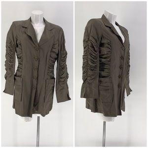 TERI JON SPORTSWEAR JACKET Dress Long Sleeve 12